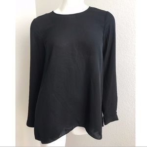Vince Camuto sheer Long sleeve blouse XS casual